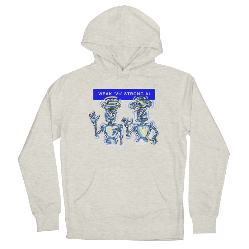Chip and Chuck Strong AI Men's Pullover Hoody by thethinkforward's Artist Shop