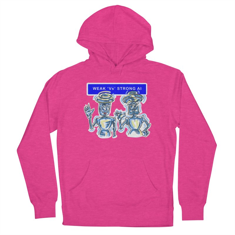 Chip and Chuck Strong AI Women's French Terry Pullover Hoody by thethinkforward's Artist Shop