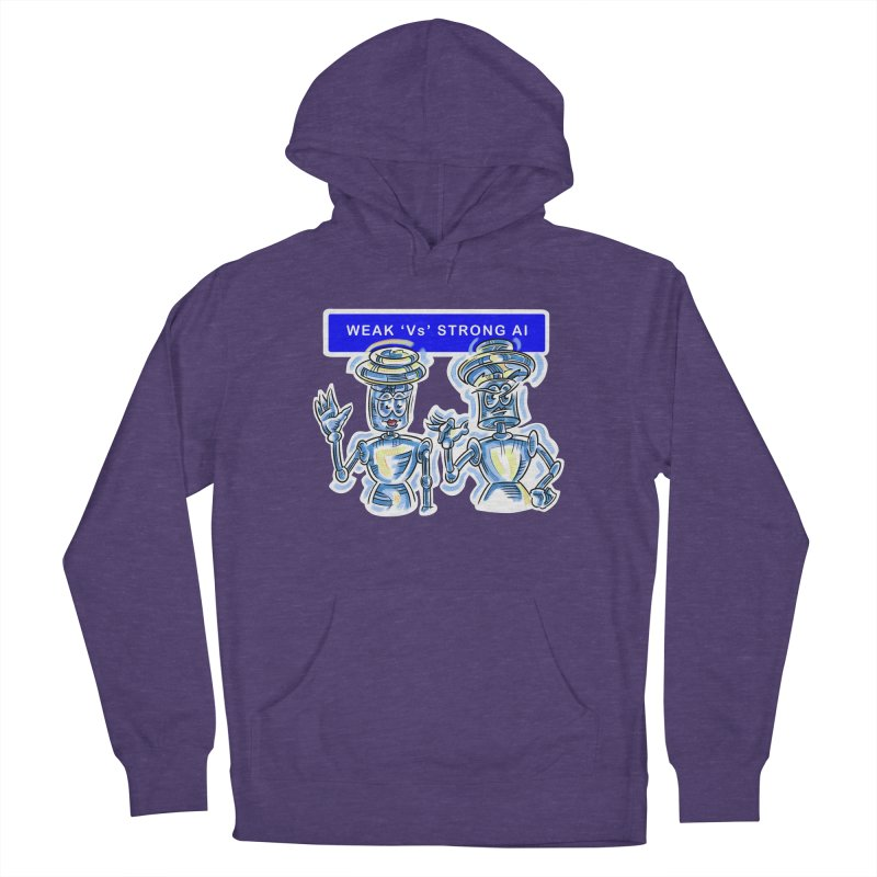 Chip and Chuck Strong AI Women's Pullover Hoody by thethinkforward's Artist Shop