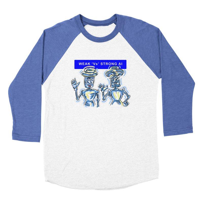 Chip and Chuck Strong AI Women's Baseball Triblend Longsleeve T-Shirt by thethinkforward's Artist Shop