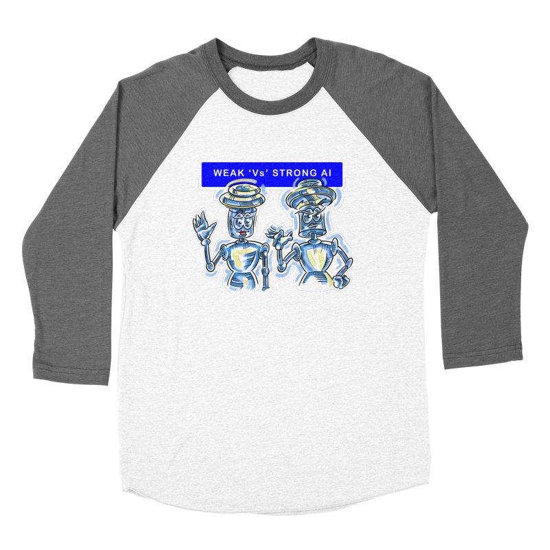 Chip and Chuck Strong AI Women's Longsleeve T-Shirt by thethinkforward's Artist Shop