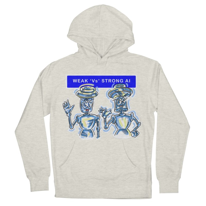 Chip and Chuck Strong AI Men's French Terry Pullover Hoody by thethinkforward's Artist Shop