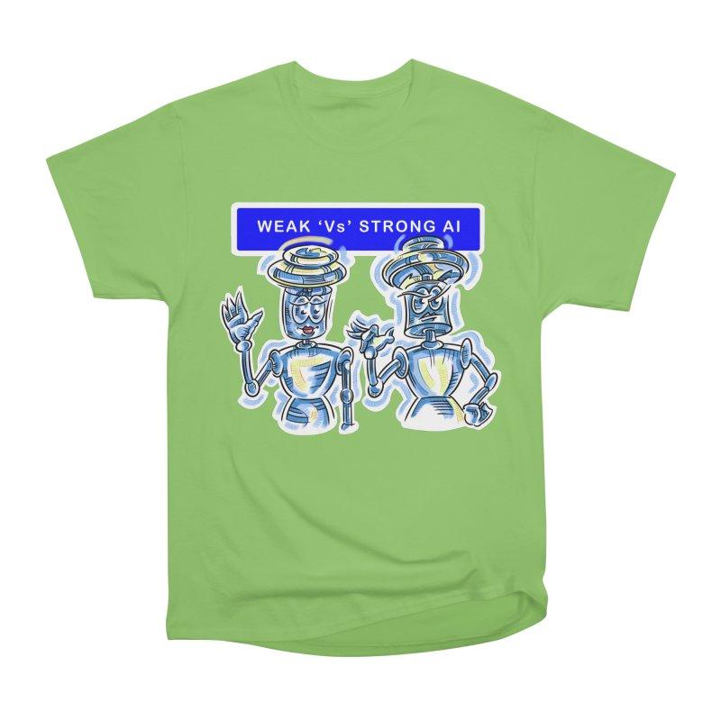 Chip and Chuck Strong AI Men's Heavyweight T-Shirt by thethinkforward's Artist Shop
