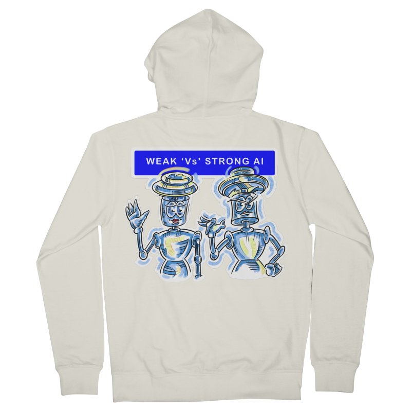 Chip and Chuck Strong AI Men's Zip-Up Hoody by thethinkforward's Artist Shop