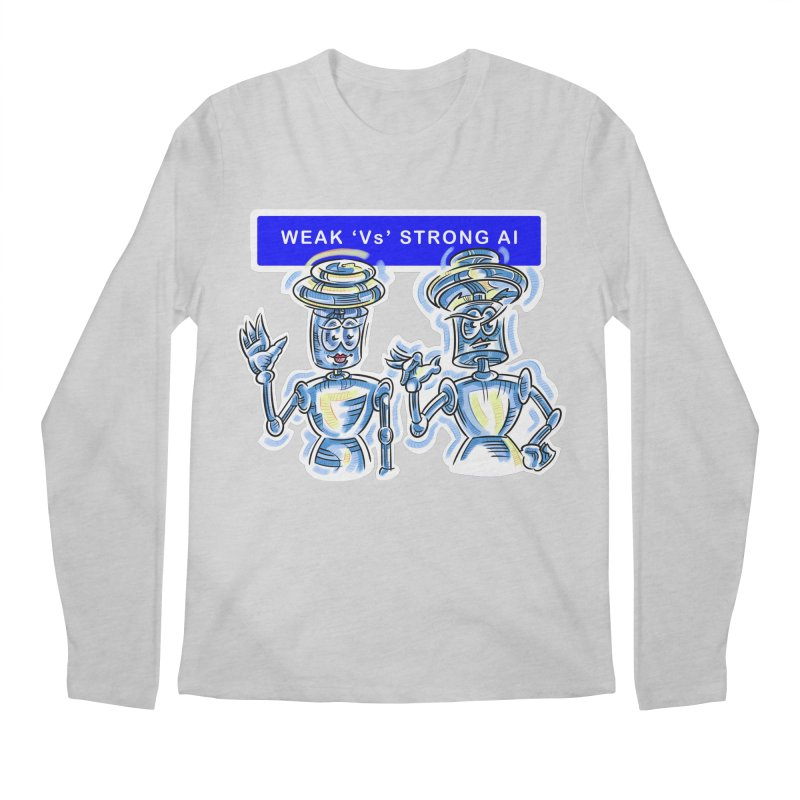 Chip and Chuck Strong AI Men's Longsleeve T-Shirt by thethinkforward's Artist Shop