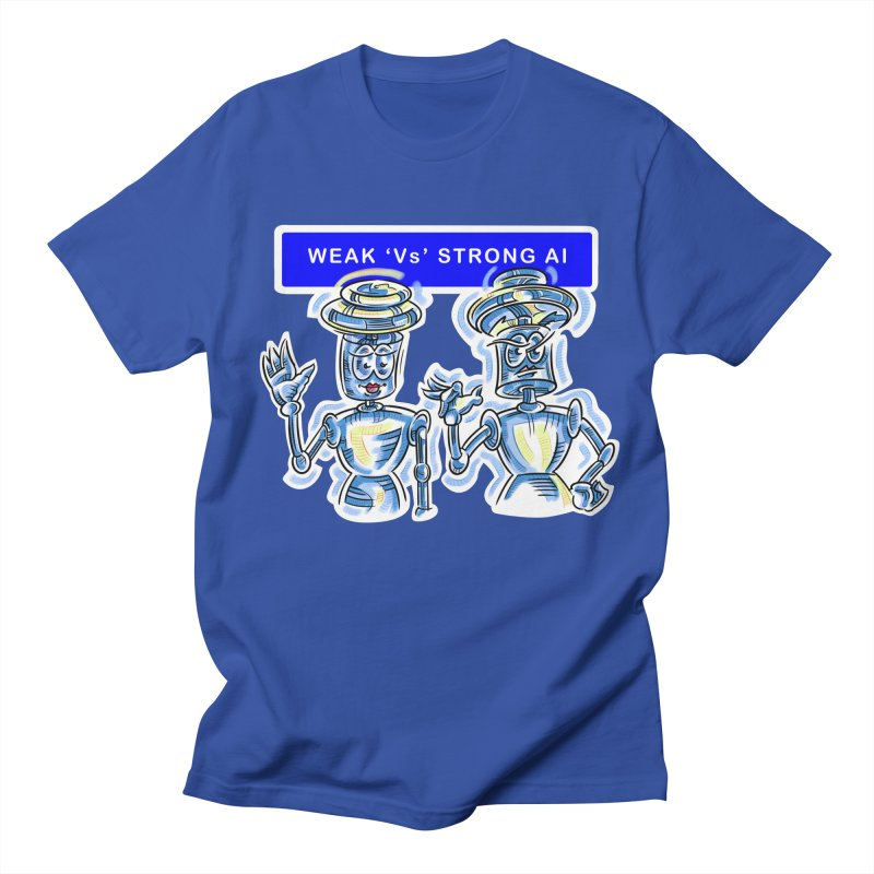 Chip and Chuck Strong AI Men's Regular T-Shirt by thethinkforward's Artist Shop