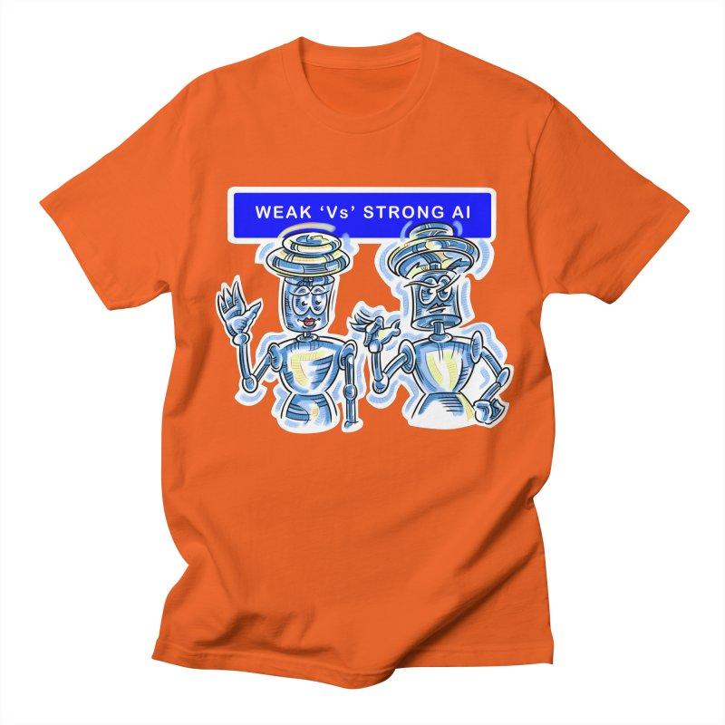 Chip and Chuck Strong AI Men's Regular T-Shirt by thethinkforward's Artist Shop