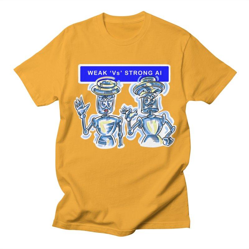 Chip and Chuck Strong AI Women's Regular Unisex T-Shirt by thethinkforward's Artist Shop
