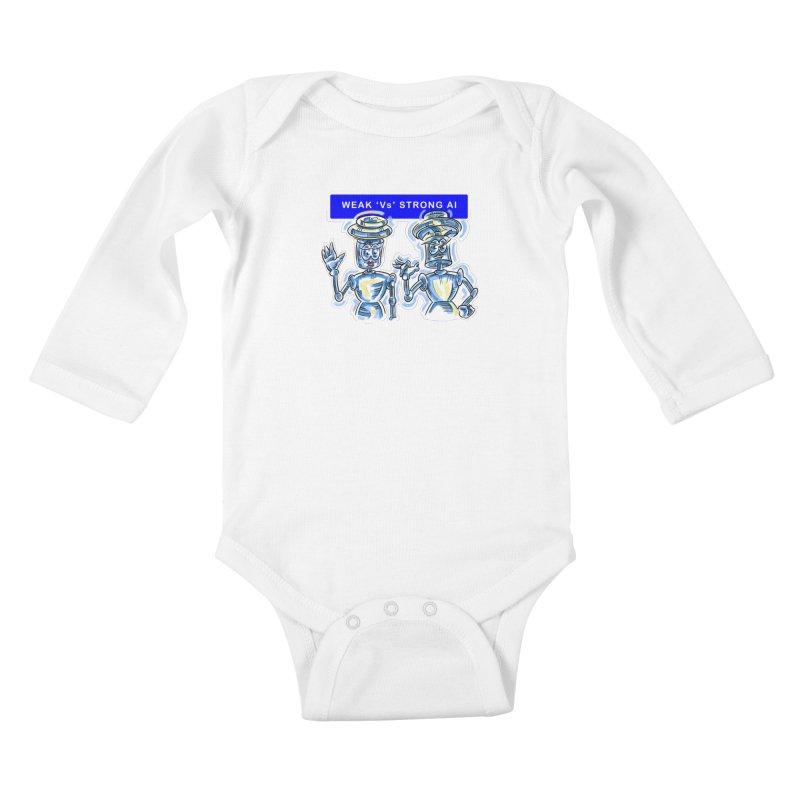 Chip and Chuck Strong AI Kids Baby Longsleeve Bodysuit by thethinkforward's Artist Shop