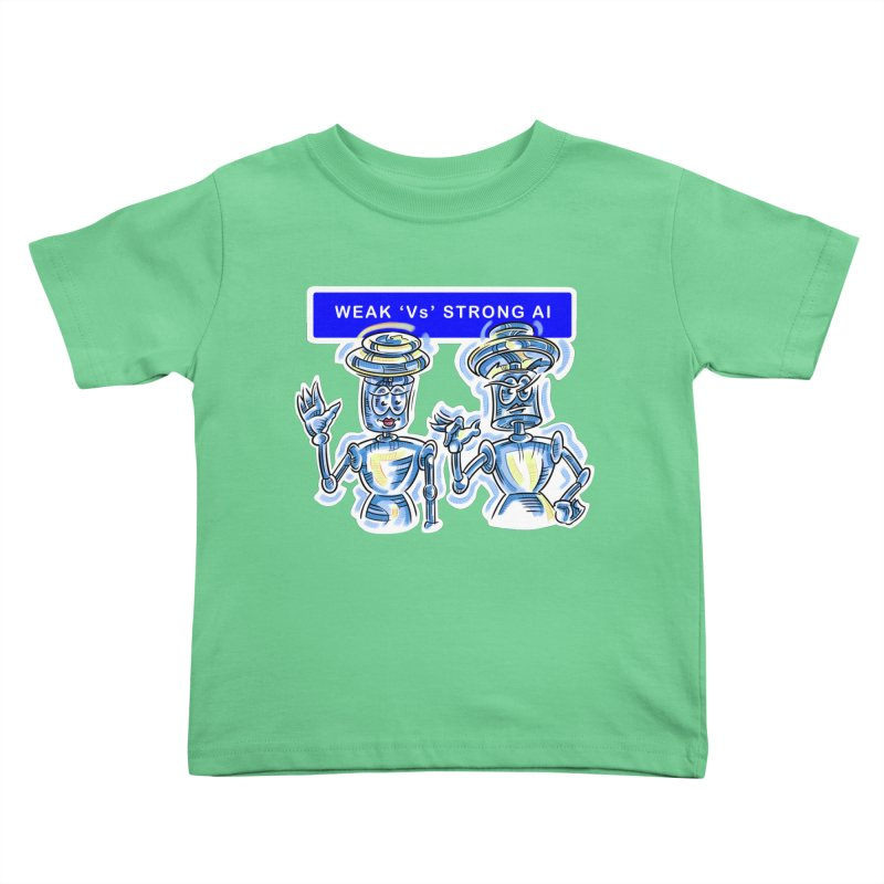 Chip and Chuck Strong AI Kids Toddler T-Shirt by thethinkforward's Artist Shop