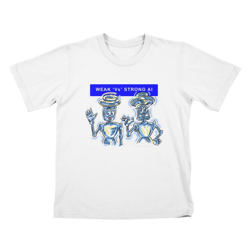 Chip and Chuck Strong AI Kids T-Shirt by thethinkforward's Artist Shop