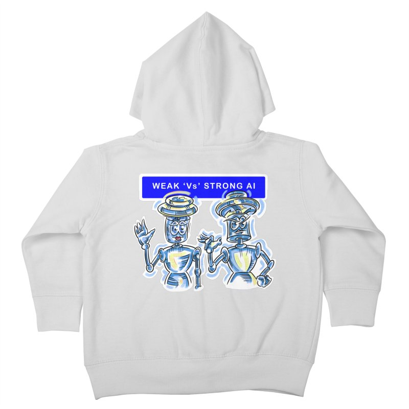 Chip and Chuck Strong AI Kids Toddler Zip-Up Hoody by thethinkforward's Artist Shop