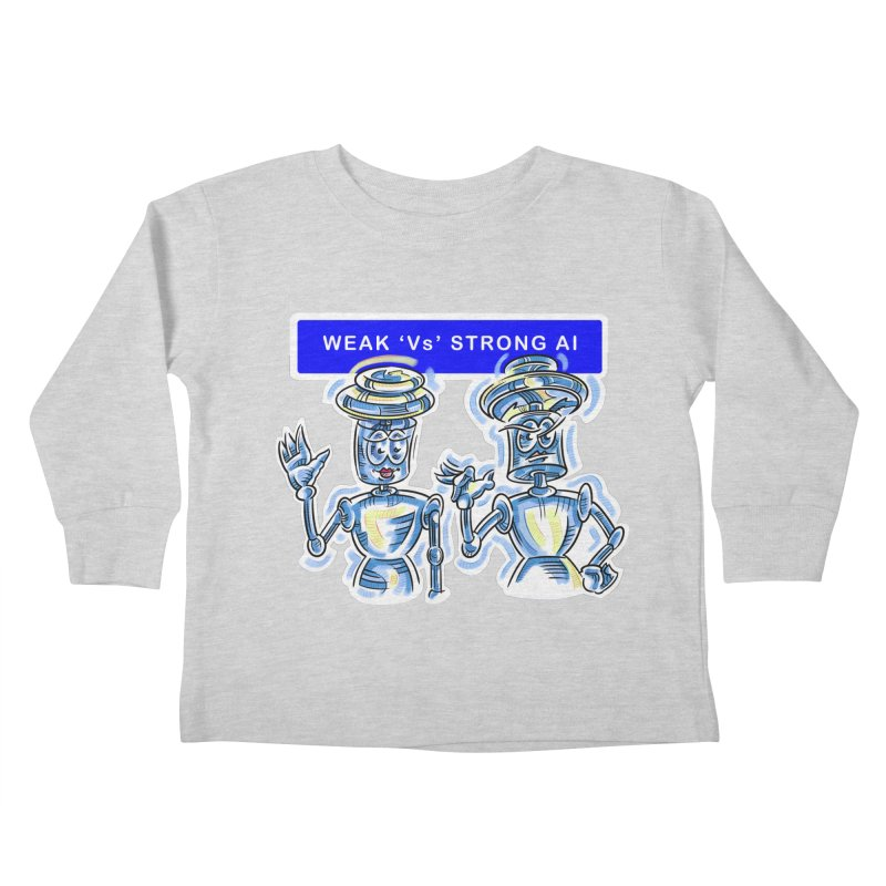 Chip and Chuck Strong AI Kids Toddler Longsleeve T-Shirt by thethinkforward's Artist Shop