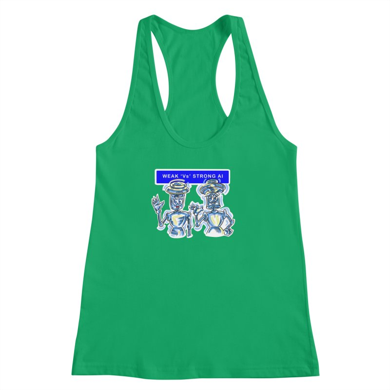 Chip and Chuck Strong AI Women's Tank by thethinkforward's Artist Shop