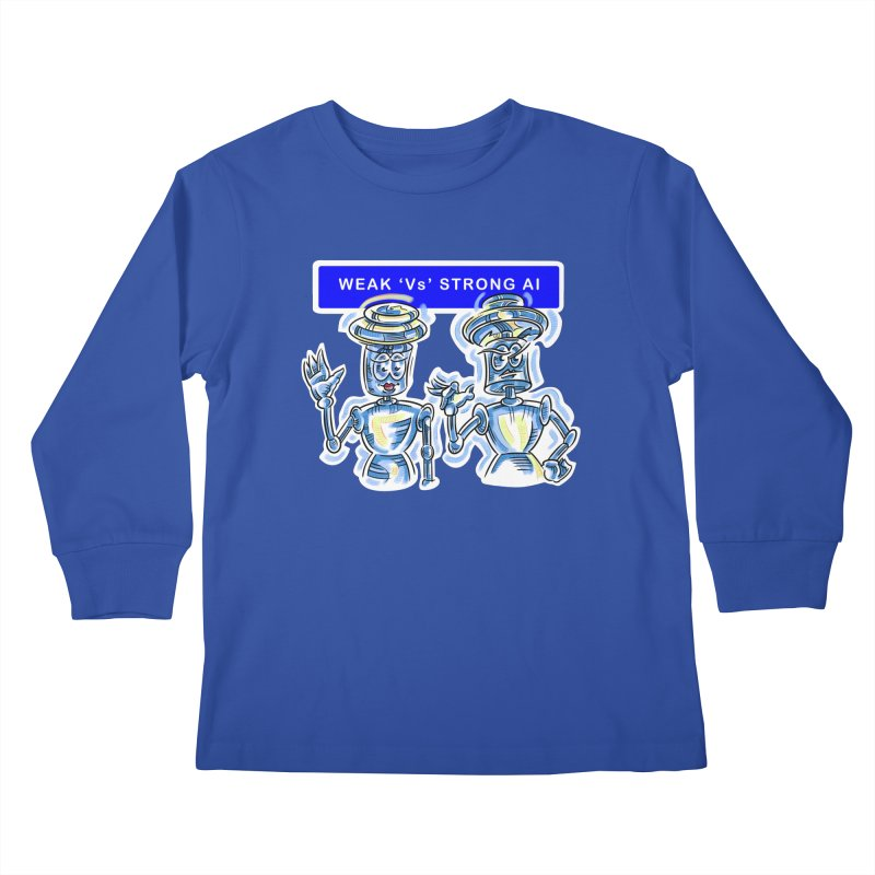 Chip and Chuck Strong AI Kids Longsleeve T-Shirt by thethinkforward's Artist Shop