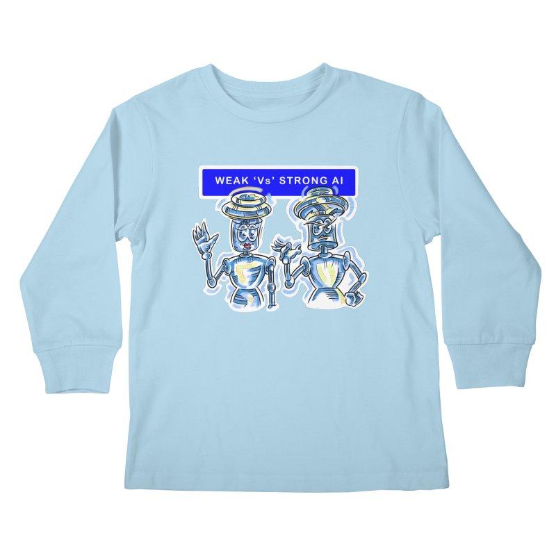 Chip and Chuck Strong AI Kids Longsleeve T-Shirt by thethinkforward's Artist Shop