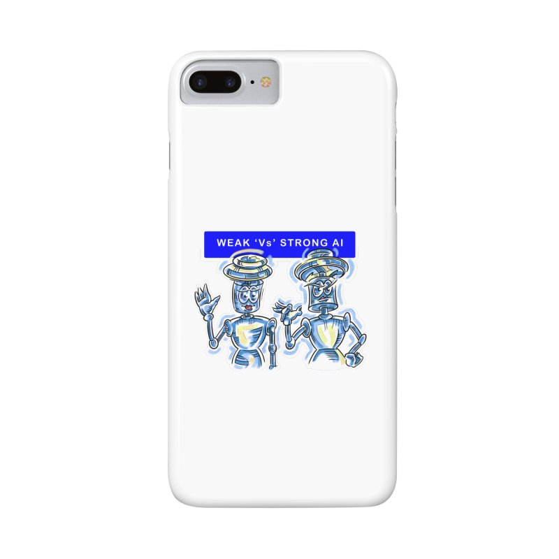 Chip and Chuck Strong AI Accessories Phone Case by thethinkforward's Artist Shop