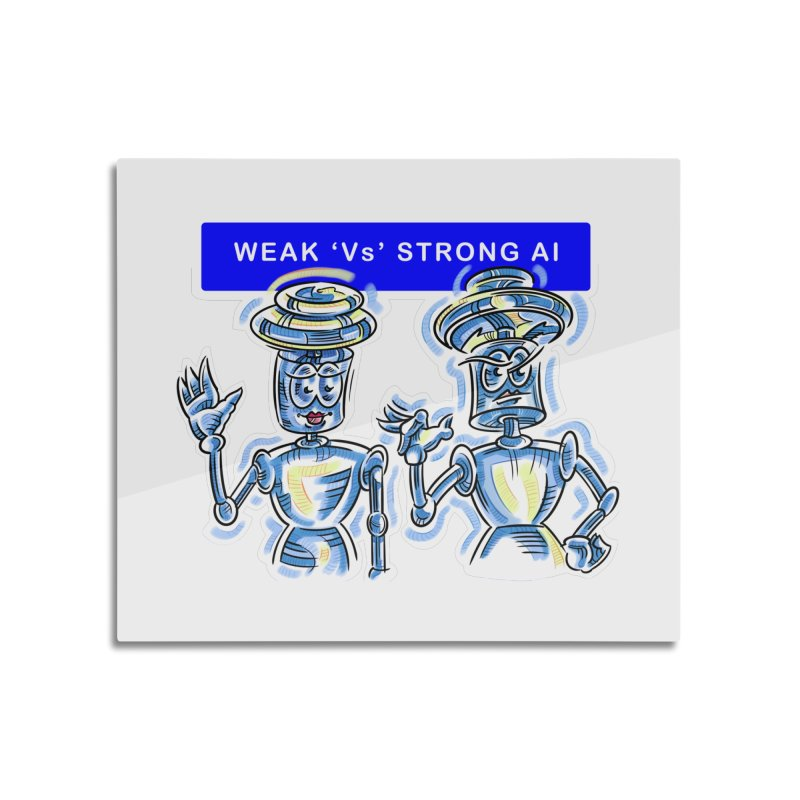 Chip and Chuck Strong AI Home Mounted Acrylic Print by thethinkforward's Artist Shop