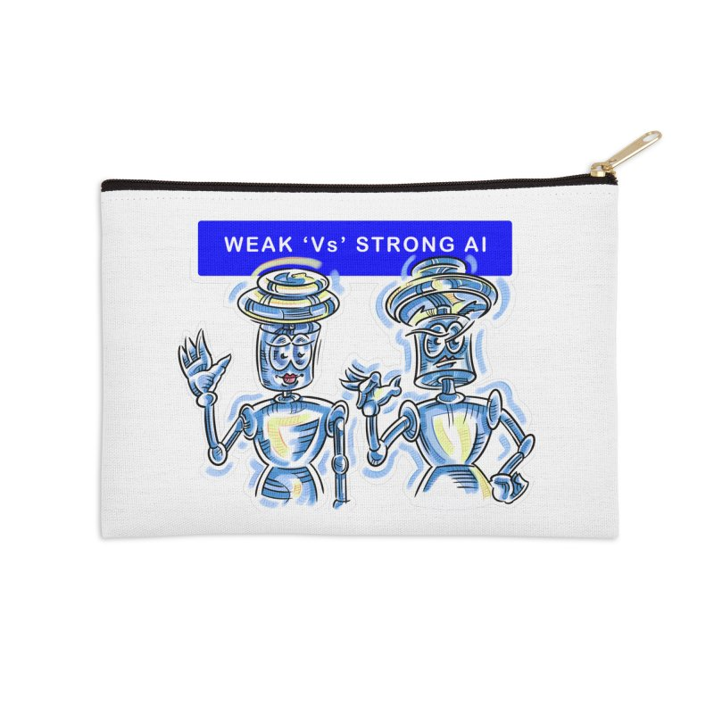 Chip and Chuck Strong AI Accessories Zip Pouch by thethinkforward's Artist Shop