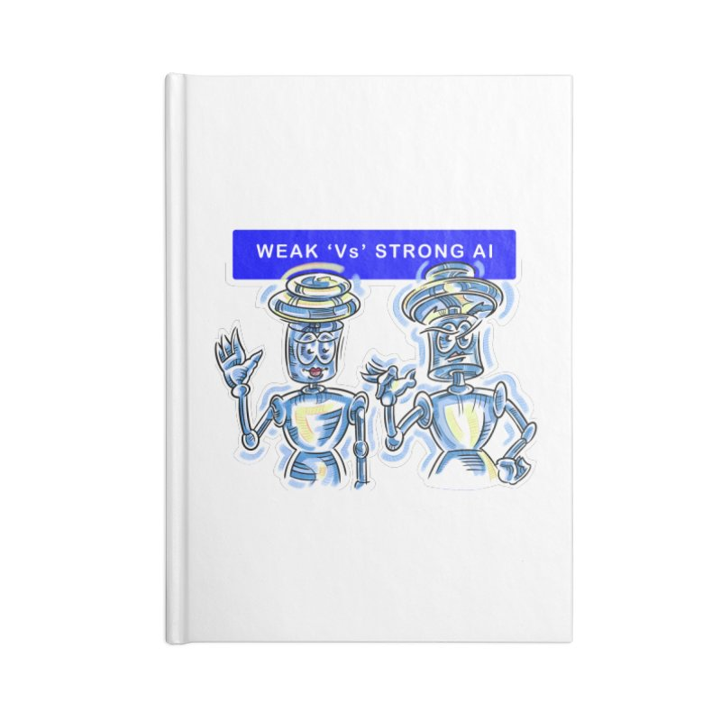 Chip and Chuck Strong AI Accessories Blank Journal Notebook by thethinkforward's Artist Shop