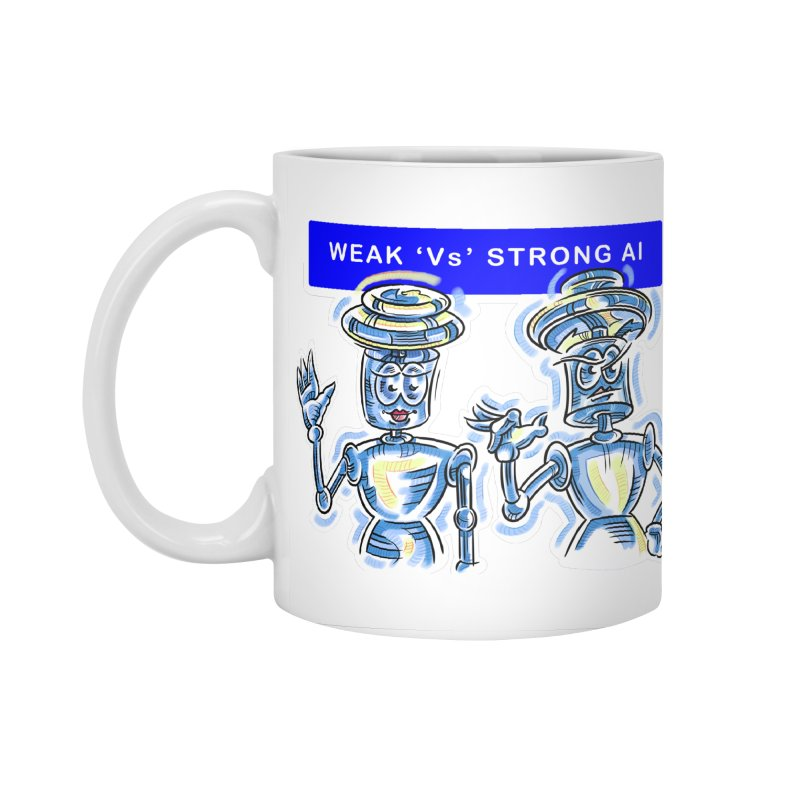 Chip and Chuck Strong AI Accessories Standard Mug by thethinkforward's Artist Shop
