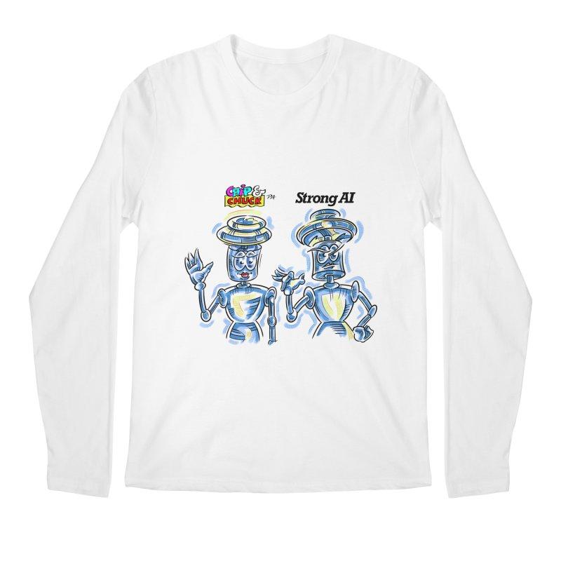 Chip and Chuck Strong AI Men's Regular Longsleeve T-Shirt by thethinkforward's Artist Shop