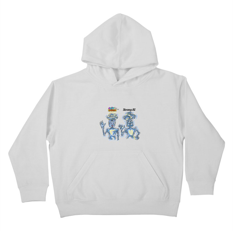 Chip and Chuck Strong AI Kids Pullover Hoody by thethinkforward's Artist Shop
