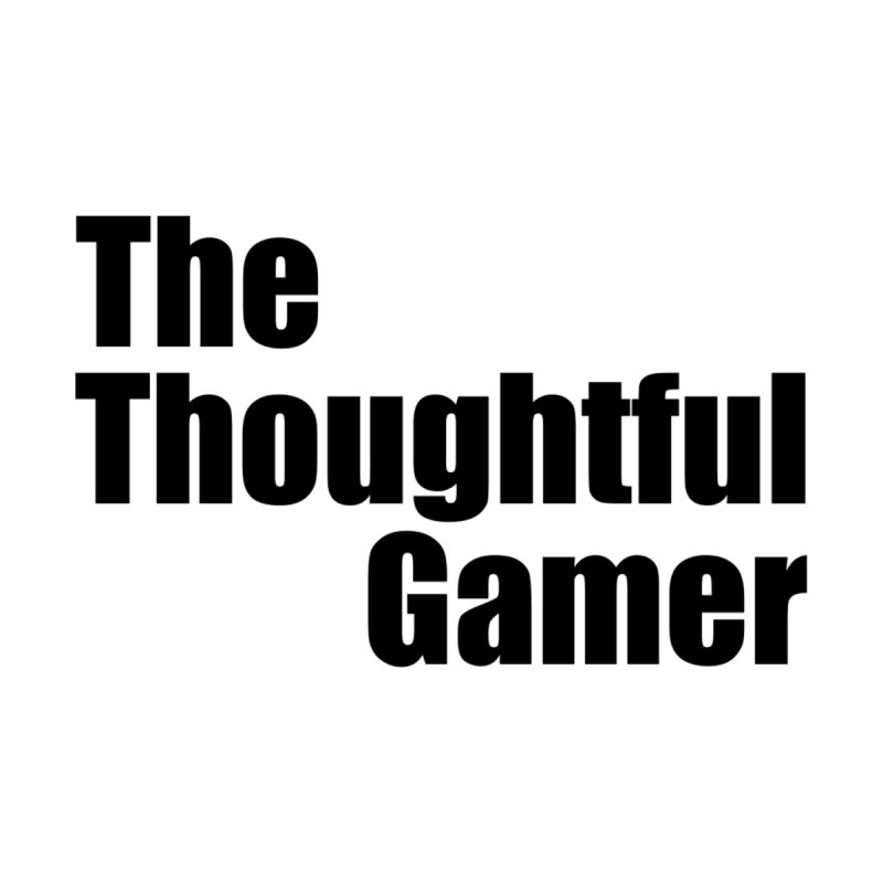 TTG Simple Bold Black   by thethoughtfulgamer's Artist Shop