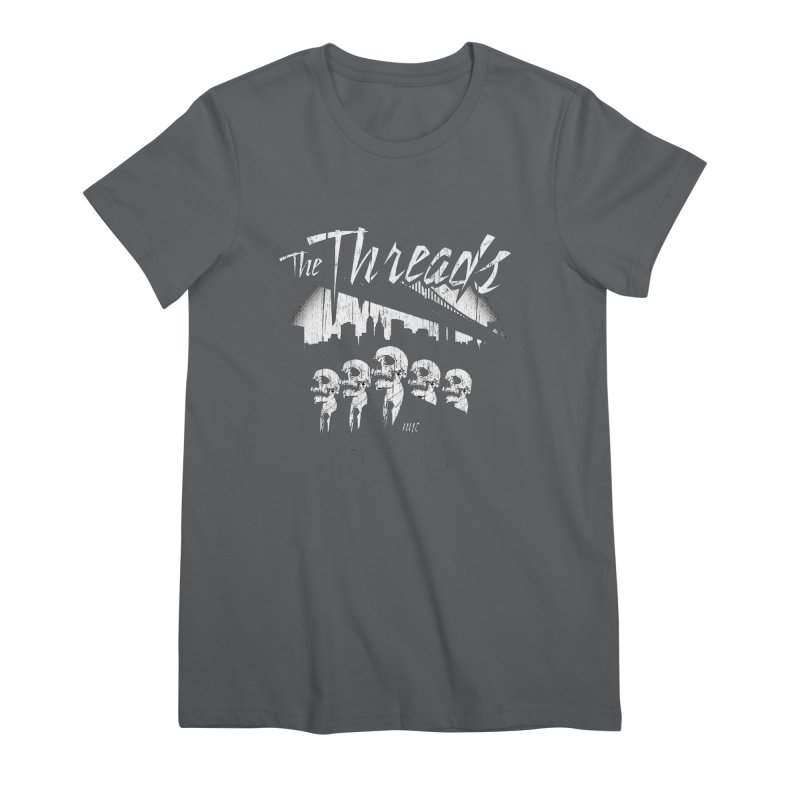 Skeletons in the City Women's T-Shirt by THE THREADS NYC's Artist Shop