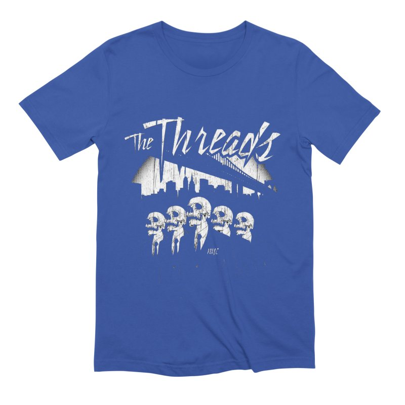 Skeletons in the City Men's T-Shirt by THE THREADS NYC's Artist Shop