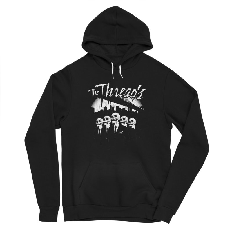 Skeletons in the City Women's Pullover Hoody by THE THREADS NYC's Artist Shop
