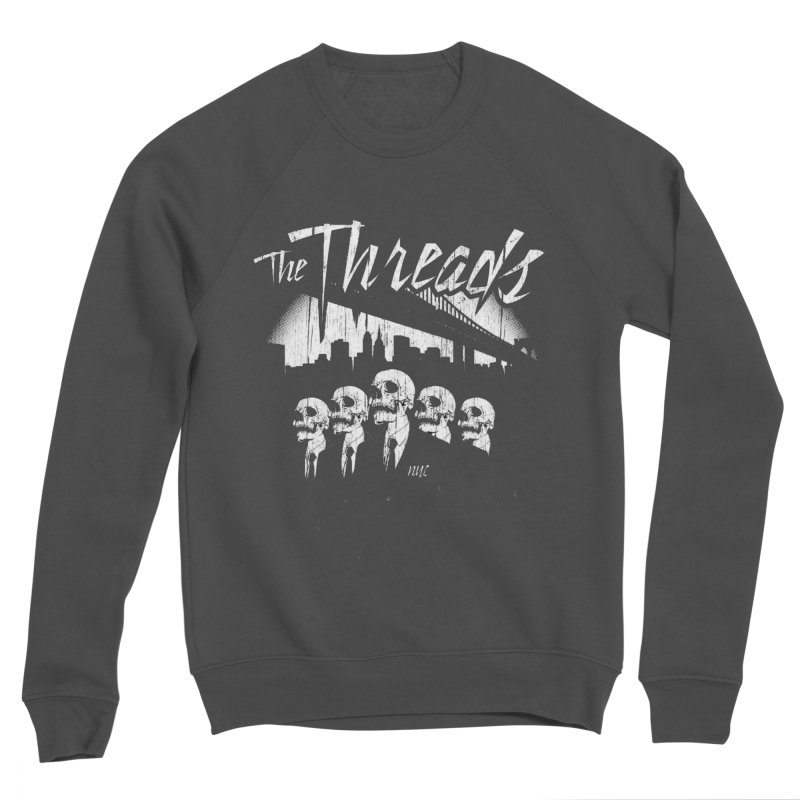 Skeletons in the City Men's Sweatshirt by THE THREADS NYC's Artist Shop