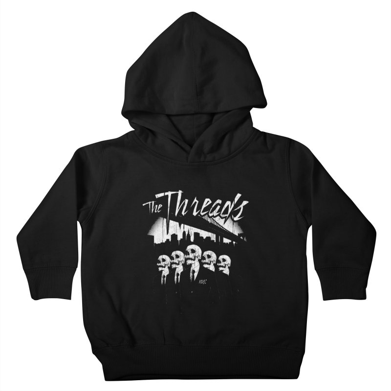 Skeletons in the City Kids Toddler Pullover Hoody by THE THREADS NYC's Artist Shop