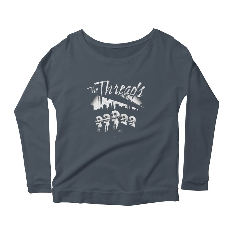 Skeletons in the City Women's Longsleeve T-Shirt by THE THREADS NYC's Artist Shop
