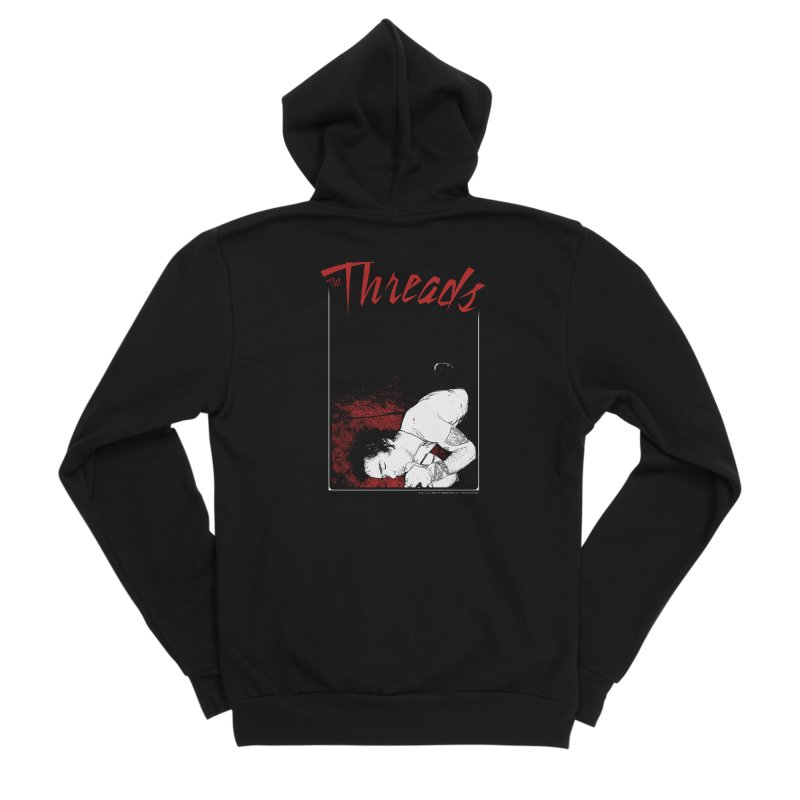 Mickie Brown Men's Zip-Up Hoody by THE THREADS NYC's Artist Shop