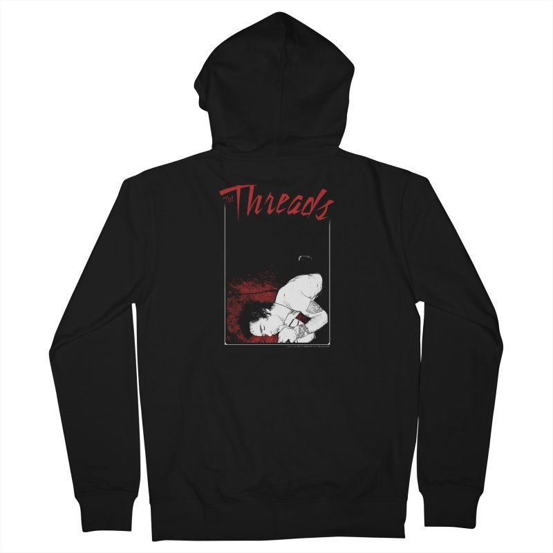 Mickie Brown Women's Zip-Up Hoody by THE THREADS NYC's Artist Shop