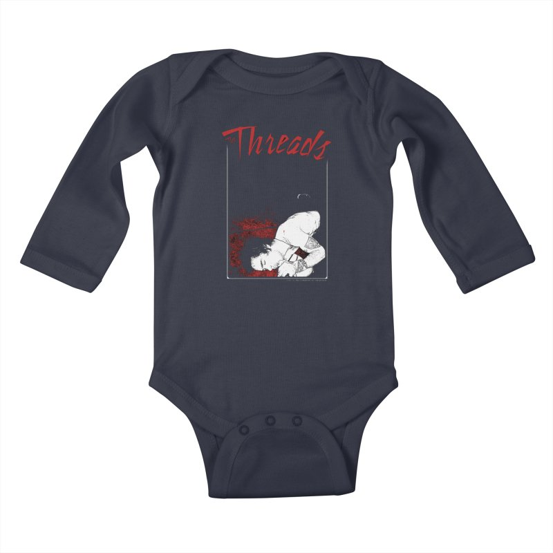 Mickie Brown Kids Baby Longsleeve Bodysuit by THE THREADS NYC's Artist Shop