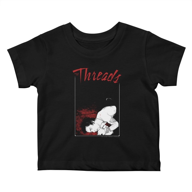 Mickie Brown Kids Baby T-Shirt by THE THREADS NYC's Artist Shop