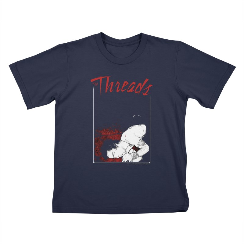Mickie Brown Kids T-Shirt by THE THREADS NYC's Artist Shop