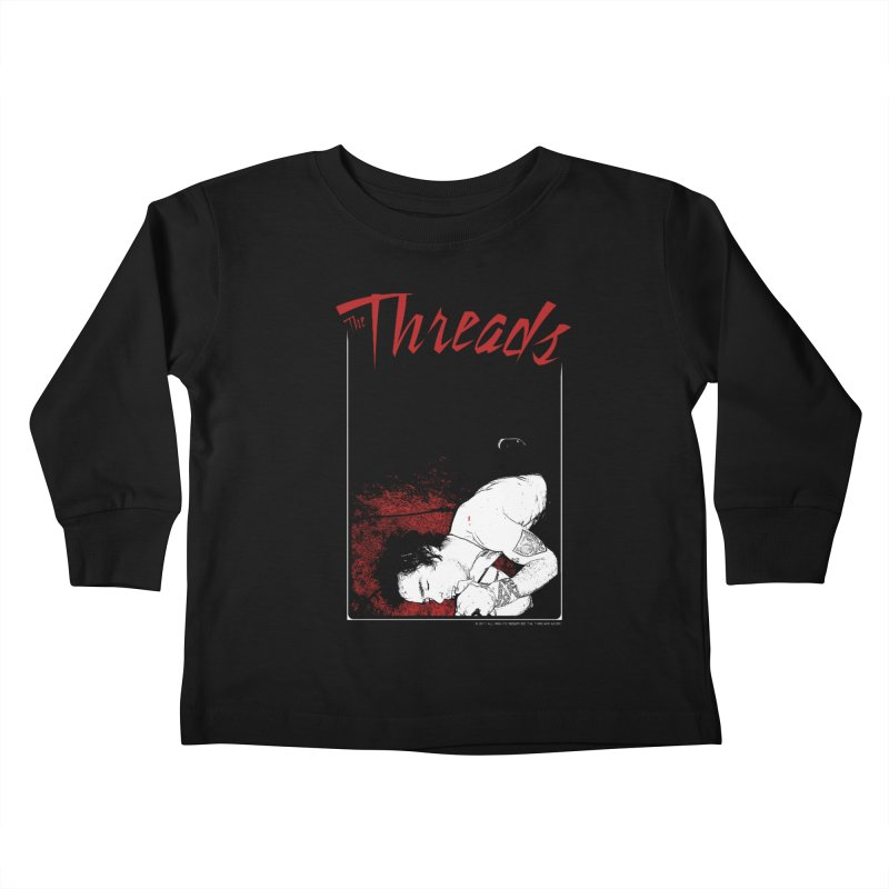 Mickie Brown Kids Toddler Longsleeve T-Shirt by THE THREADS NYC's Artist Shop