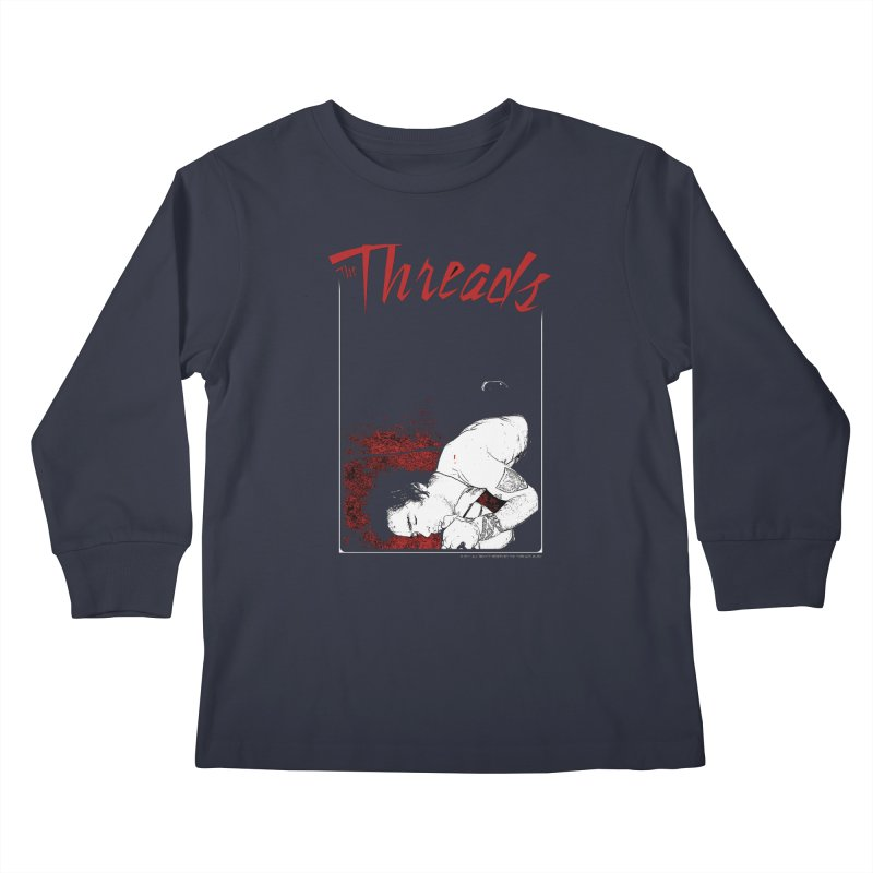 Mickie Brown Kids Longsleeve T-Shirt by THE THREADS NYC's Artist Shop