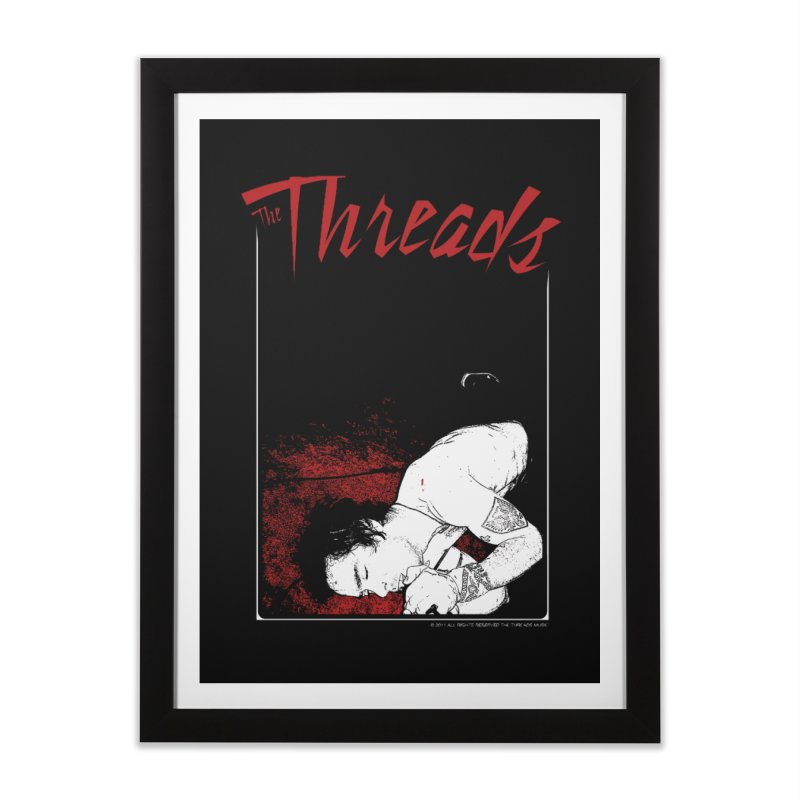Mickie Brown Home Framed Fine Art Print by THE THREADS NYC's Artist Shop