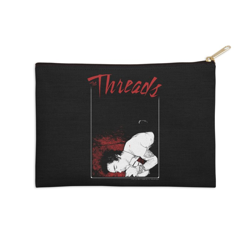 Mickie Brown Accessories Zip Pouch by THE THREADS NYC's Artist Shop