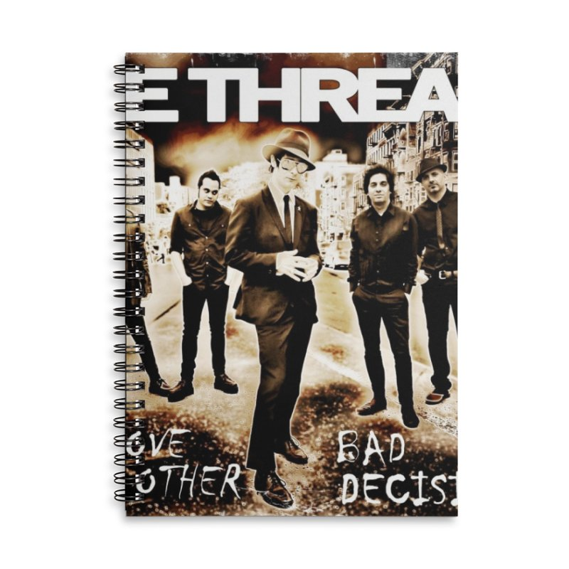 Love & Other Bad Decisions Accessories Notebook by THE THREADS NYC's Artist Shop