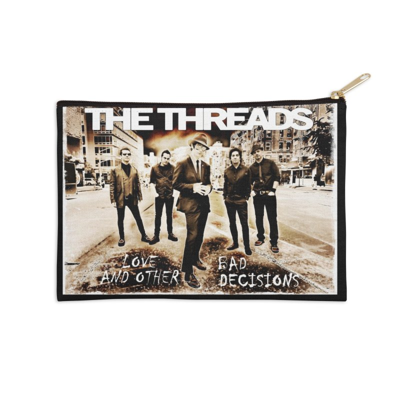 Love & Other Bad Decisions Accessories Zip Pouch by THE THREADS NYC's Artist Shop