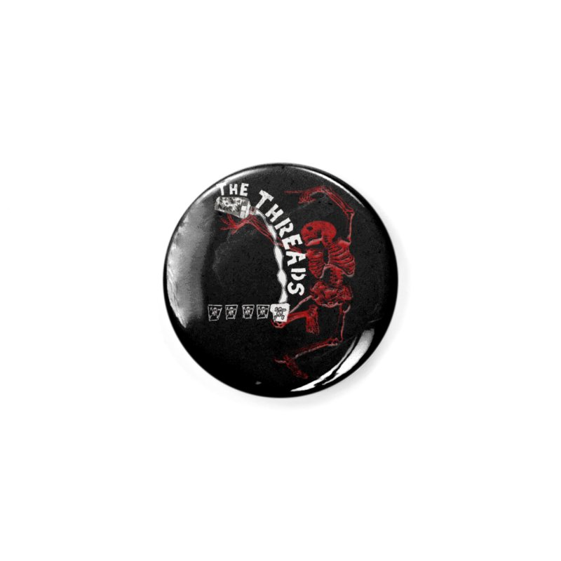 Death By Misadventure Accessories Button by THE THREADS NYC's Artist Shop
