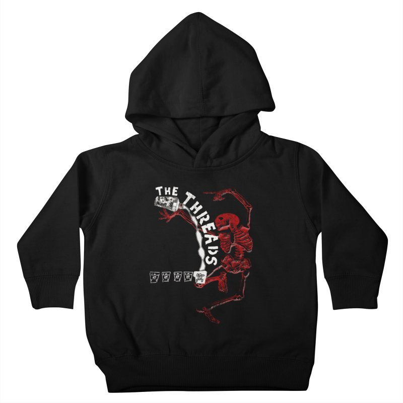 Death By Misadventure Kids Toddler Pullover Hoody by THE THREADS NYC's Artist Shop