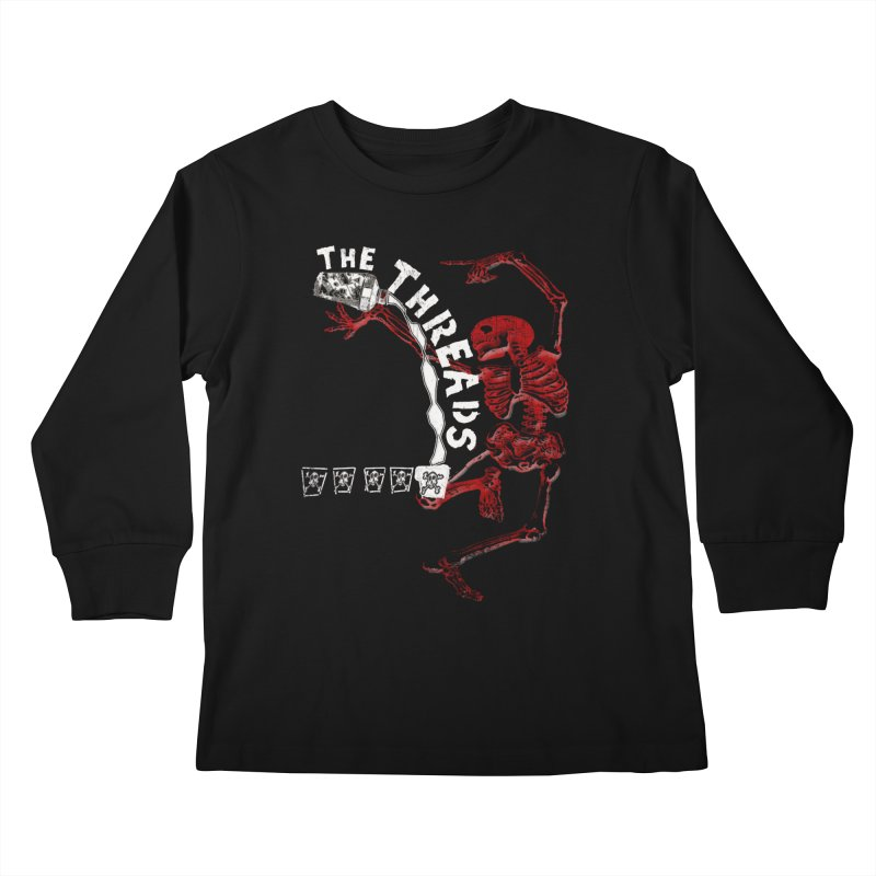 Death By Misadventure Kids Longsleeve T-Shirt by THE THREADS NYC's Artist Shop