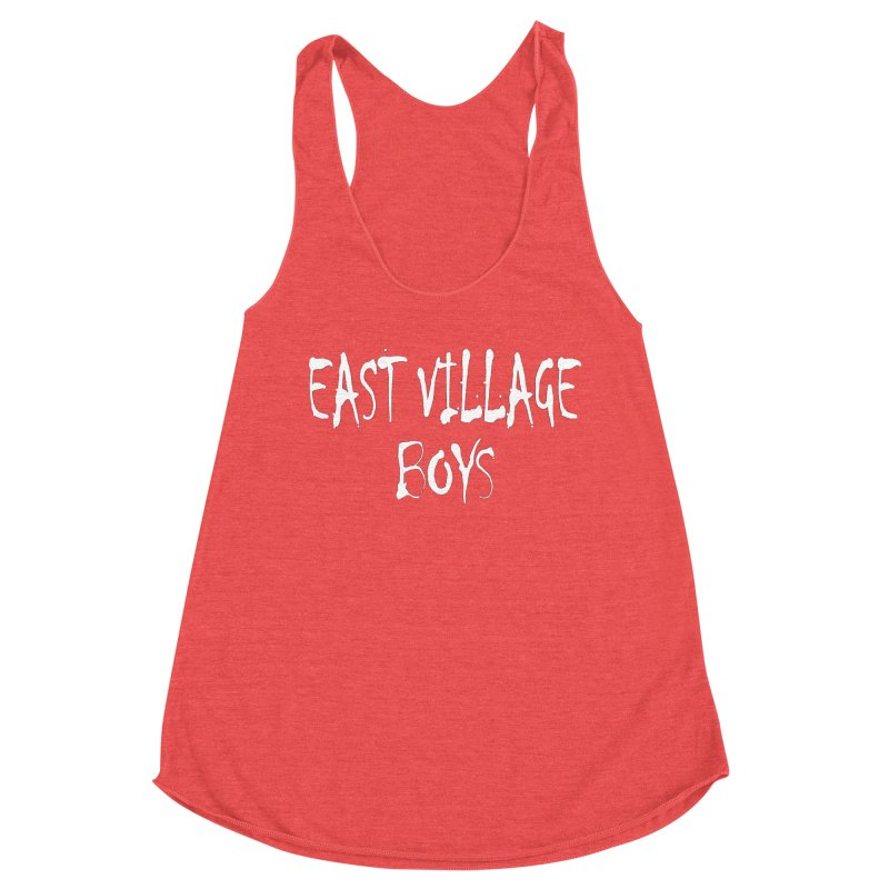 East Village Boys Women's Tank by THE THREADS NYC's Artist Shop