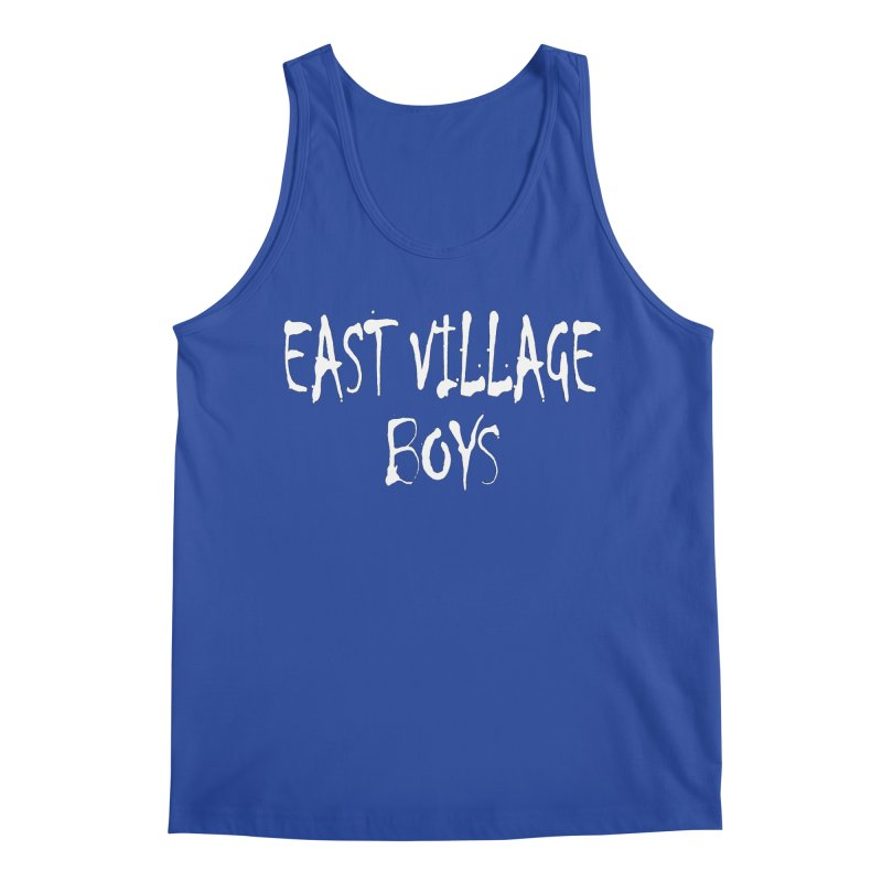 East Village Boys Men's Tank by THE THREADS NYC's Artist Shop